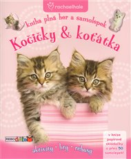 Kočičky & koťátka - Kniha plná her a samolepek