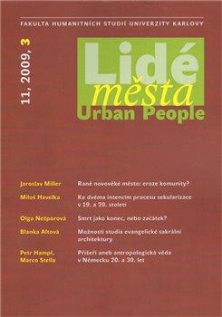 Obálka titulu LIDÉ MĚSTA 11/2009