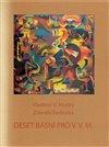 Obálka knihy Deset básní pro V.V.M.
