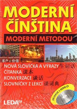 Obálka titulu Moderní čínština moderní metodou
