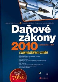 Obálka titulu Daňové zákony 2010