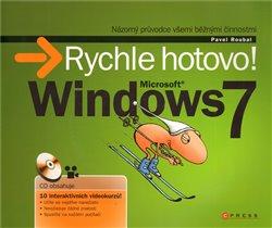Obálka titulu Microsoft Windows 7 - Rychle hotovo!