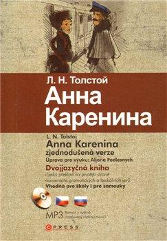 Obálka titulu Anna Karenina /bilingvní