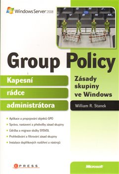 Obálka titulu Group Policy Zásady skupiny ve Windows
