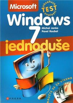 Obálka titulu Microsoft Windows 7 - Jednoduše