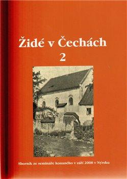 Obálka titulu Židé v Čechách 2