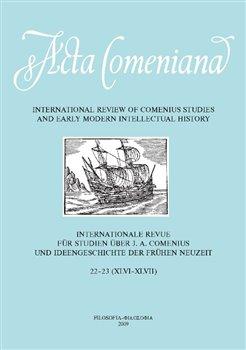 Obálka titulu Acta Comeniana 22-23