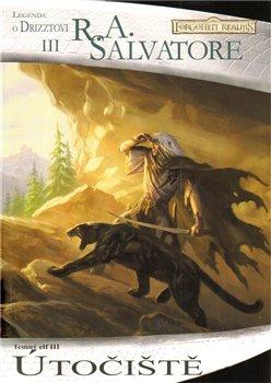 Obálka titulu Útočiště (Temný elf 3.)