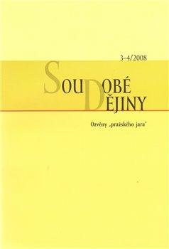 Obálka titulu Soudobé dějiny 3-4/2008