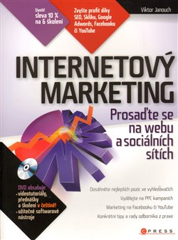 Obálka titulu Internetový marketing