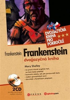 Obálka titulu Frankenstein - Dvojjazyčná kniha