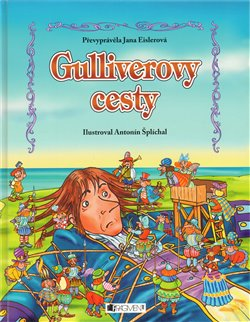 Obálka titulu Gulliverovy cesty - pro děti
