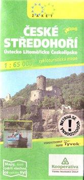 ČESKÉ STŘEDOHOŘÍ - cykloturistická mapa 1 : 65 000