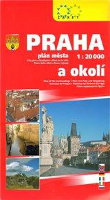 Praha a okolí - 1:20 000