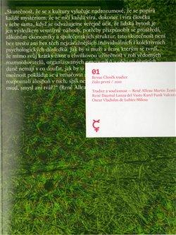Obálka titulu Revue Člověk tradice 1/2010
