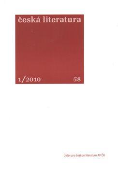 Obálka titulu Česká literatura 1/2010