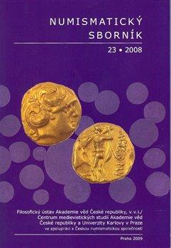 Obálka titulu Numismatický sborník 23/2008