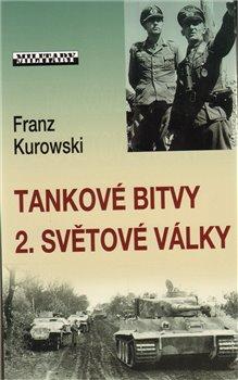 Obálka titulu Tankové bitvy 2. světové války