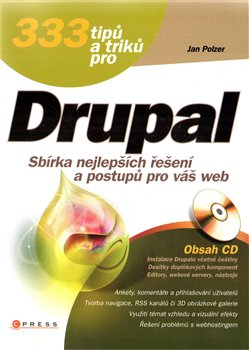 Obálka titulu 333 tipů a triků pro Drupal