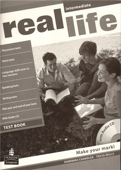 Real Life Intermediate Test book + CD
