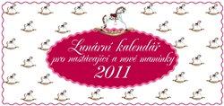 Obálka titulu Lunární kalendář pro nastávající a nové maminky 2011