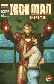 Obálka titulu Iron Man: Extremis