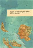 Pusté ostrovy a jiné texty - obálka