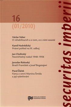 Obálka titulu Securitas Imperii 16 (1/2010)