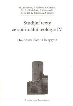 Obálka titulu Studijní texty ze spirituální teologie IV.