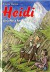 Obálka knihy Heidi, děvčátko z hor