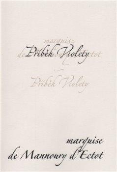 Obálka titulu Příběh Violety