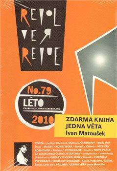 Obálka titulu Revolver Revue 79 + Jedna věta