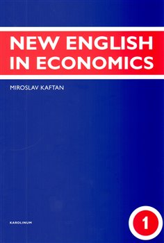 Obálka titulu New English in Economics  - 1. díl