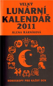Obálka titulu Velký lunární kalendář 2011