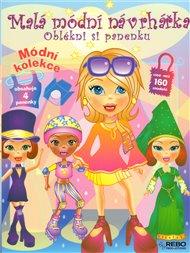 Malá módní návrhářka – Oblékni si panenku