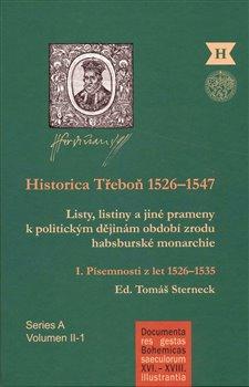 Obálka titulu Historica Třeboň 1526-1547