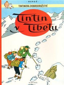 Obálka titulu Tintin v Tibetu