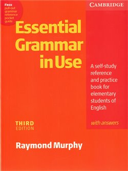 Obálka titulu Essential Grammar in Use with Answers - 3rd edition
