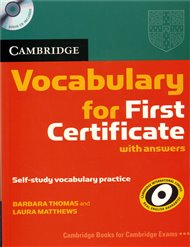 Cambridge vocabulary - 2nd edition - for FCE with answers