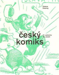 Obálka titulu Český komiks 1. poloviny 20. století