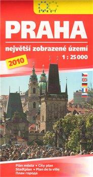 Praha 1:25 000 /2010/ Největší zobrazené území