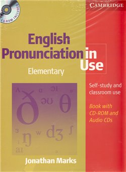 Obálka titulu English Pronunciation in Use Elementary with answers and CDROM/audio CDs