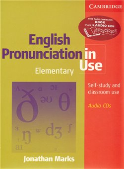 Obálka titulu English Pronunciation in Use Elementary with answers and audio CDs