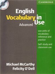 English Vocabulary in Use Advanced with answers and CD-ROM