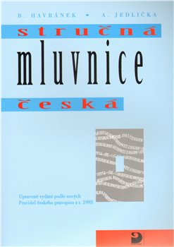 Obálka titulu Stručná mluvnice česká