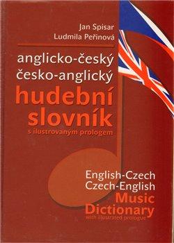 Obálka titulu Anglicko-český česko-anglický hudební slovník
