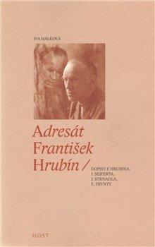 Obálka titulu Adresát František Hrubín