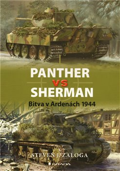 Obálka titulu Panther vs Sherman