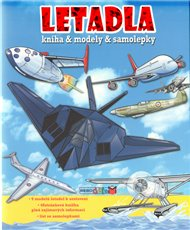 Letadla - knížka a modely a samolepky