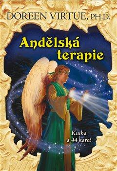 Obálka titulu Andělská terapie - kniha a 44 karet